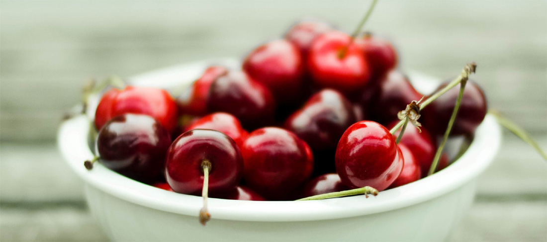 Cherries make a great dessert