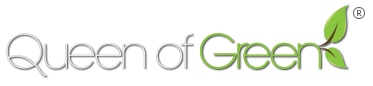 Queen of Green Retina Logo